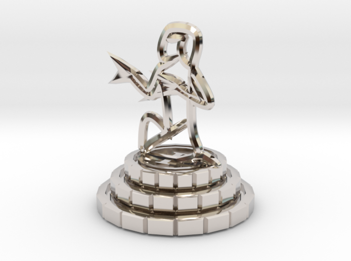 Pawn of chess 3d printed