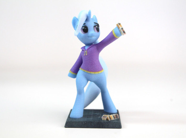 My Little Pony - The Great&Powerful Trixie 17cm 3d printed 10cm Version shown in Photo