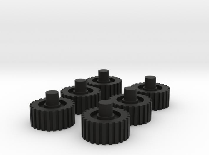Kreon Nemesis Prime Wheels 3d printed