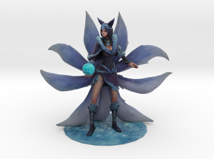 Midnight Ahri 3d printed