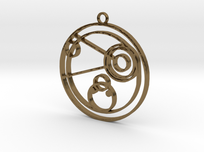 Connie - Necklace 3d printed