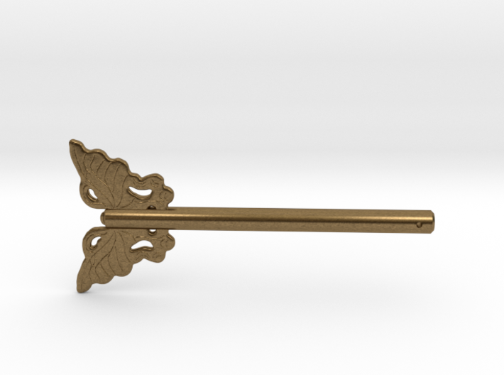 Butterfly Asian Furniture Hardware Lock Door Pin 3d printed