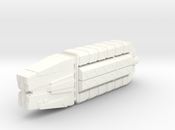 Civilian cargo space craft 3d printed