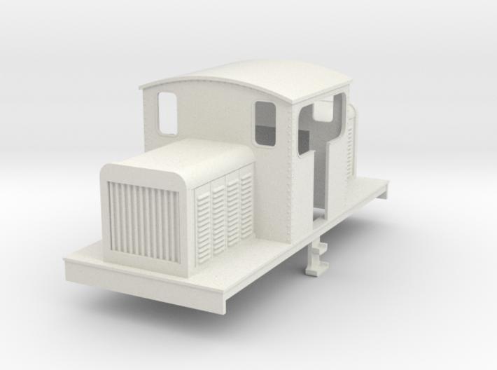 OO Freelance centercab diesel loco 3d printed