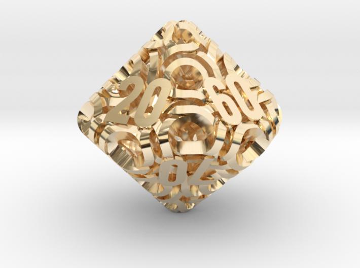 Ring d10 Decader 3d printed
