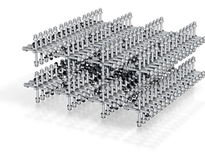 O scale Insulators Ver.1 - 480 ea 3d printed