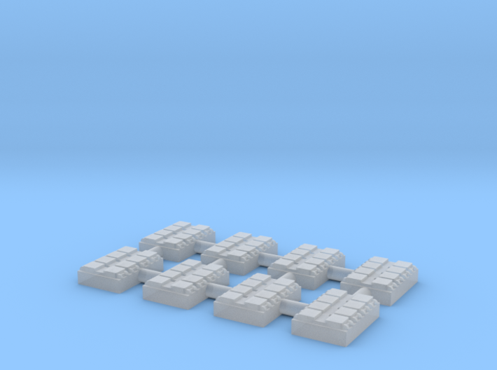 1/700 8 Cell Mk 41 VLS (x8) 3d printed