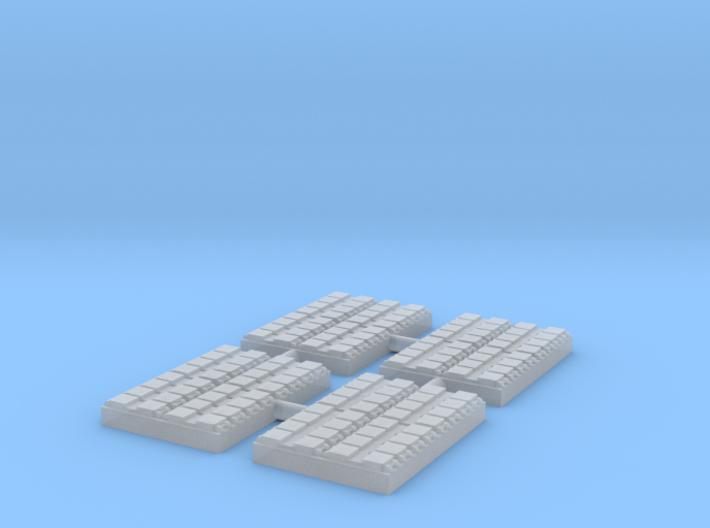 1/700 32 Cell Mk 41 VLS (x4) 3d printed