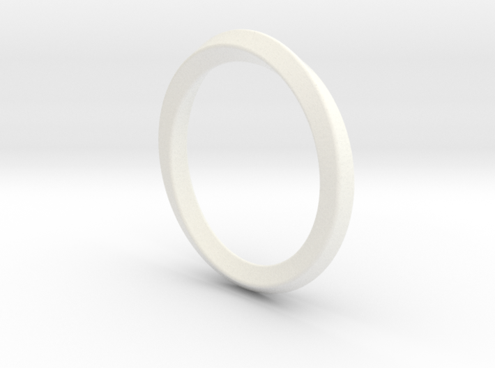 Mobius-ring (US size#6) 3d printed