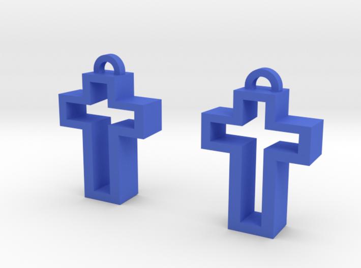 Chunky Cross 3d printed