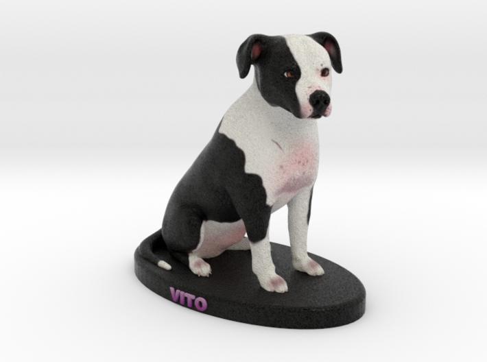Custom Dog Figurine - Vito 3d printed