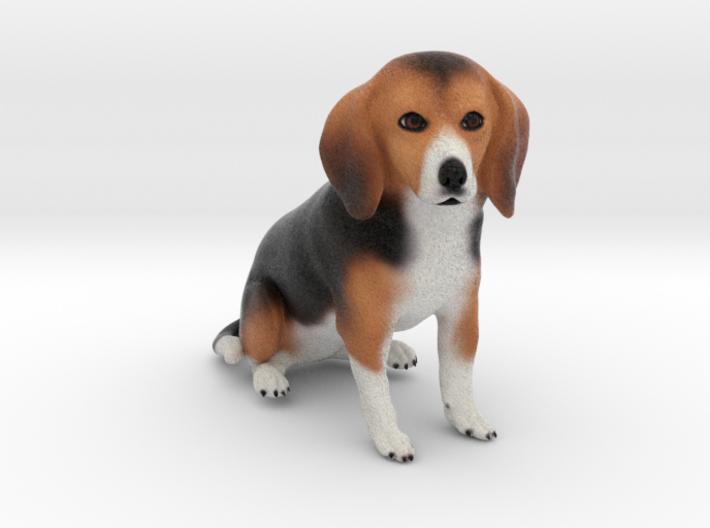 Custom Dog Ornament - Troyzie 3d printed