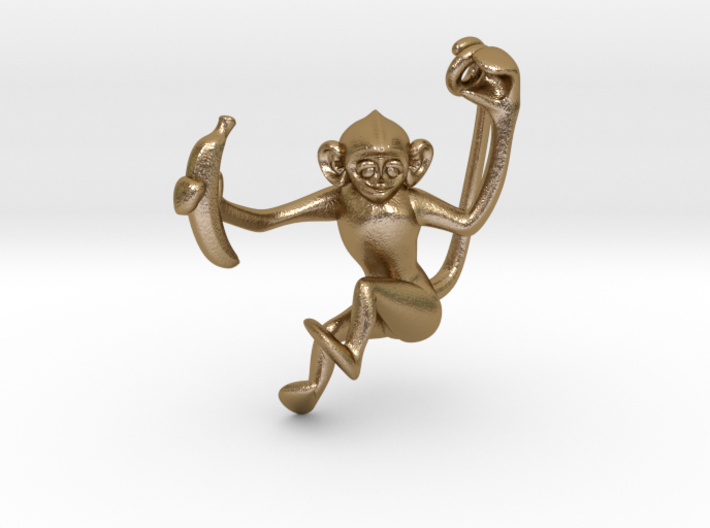 Lucky Monkey 3d printed