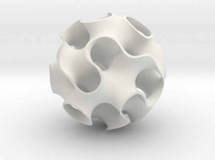 Large Gyroid 3d printed