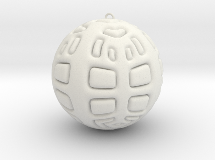 Christmas Tree Ornament #2 3d printed