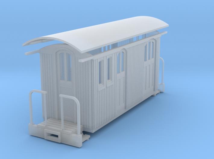 Sn2 short round roof baggage rpo 3d printed