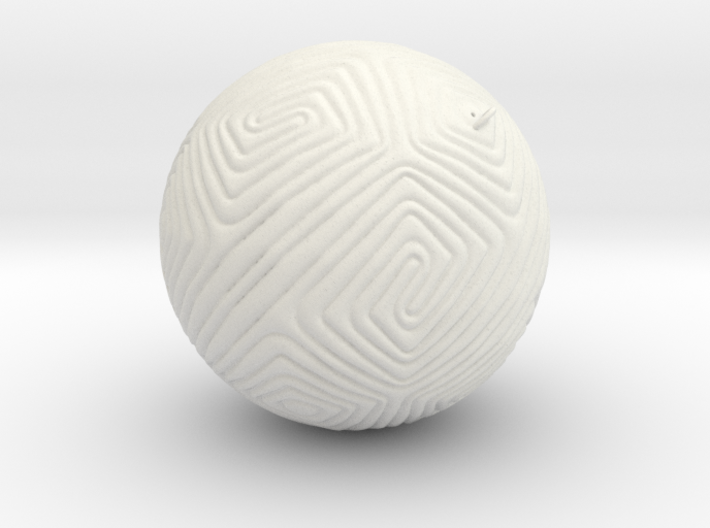 Christmas tree Ornament #11 3d printed