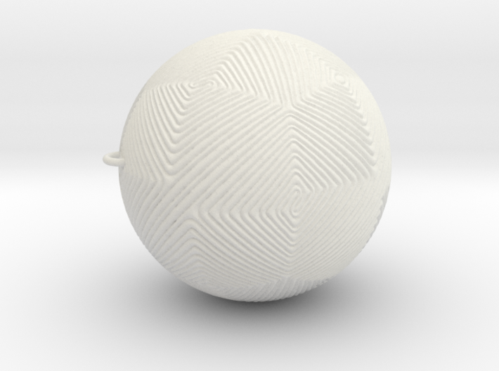 Christmas tree ornament #12 3d printed