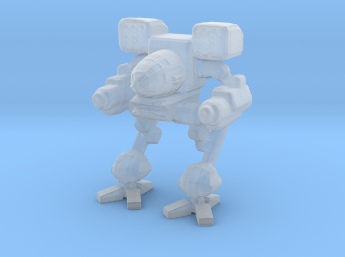 Timber wolf 3cm 3d printed
