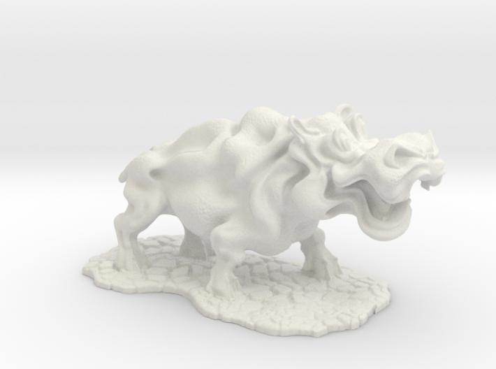 Hippopotamus 3d printed