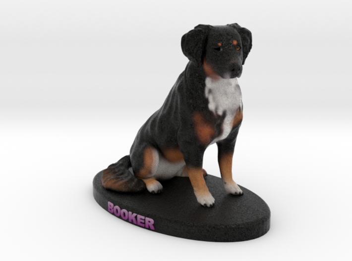 Custom Dog Figurine - Booker 3d printed
