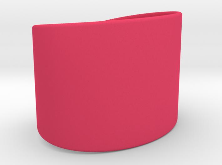 Wrist Cuff - simple curve 3d printed