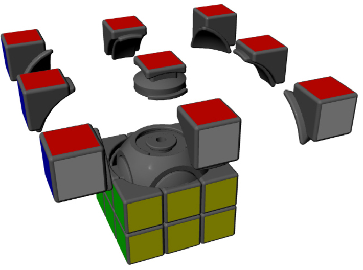 Explo Cube 3d printed