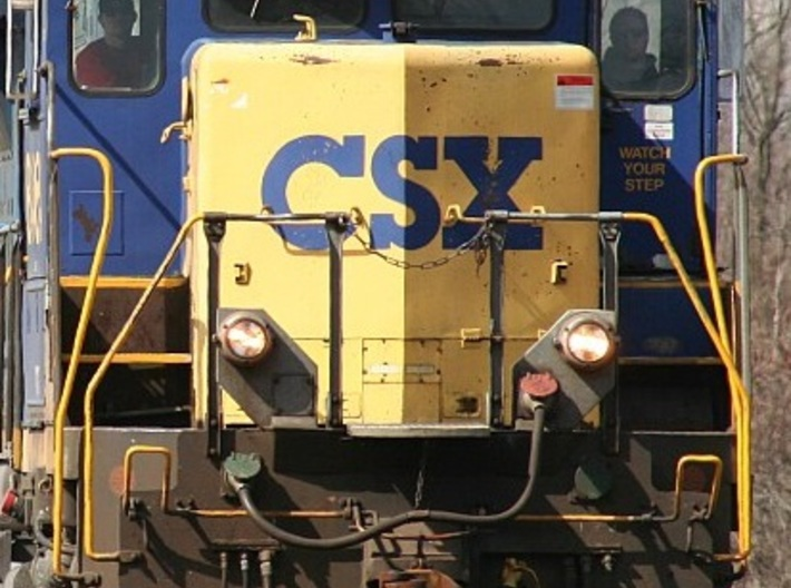 CSX Ditch Lights N Scale 3d printed Prototype