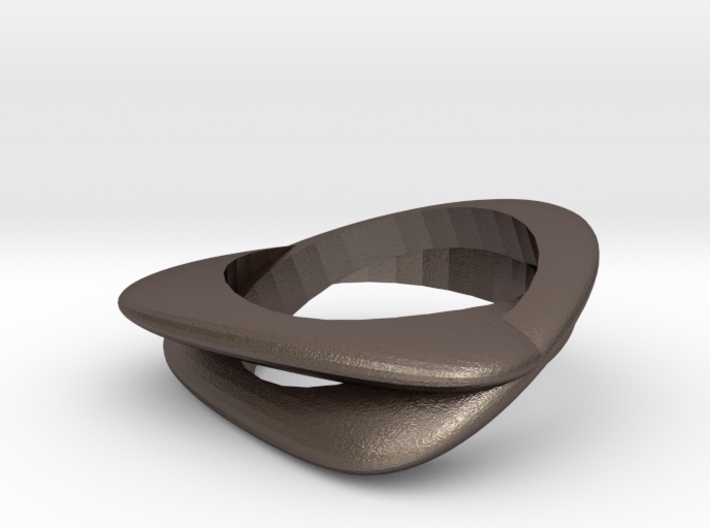 Volcanic ring 3d printed