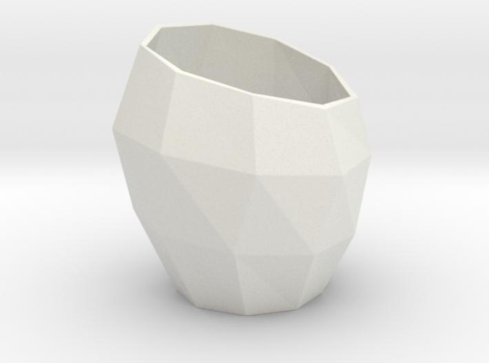 Pencil Mug / triangulated 3d printed the classic one.