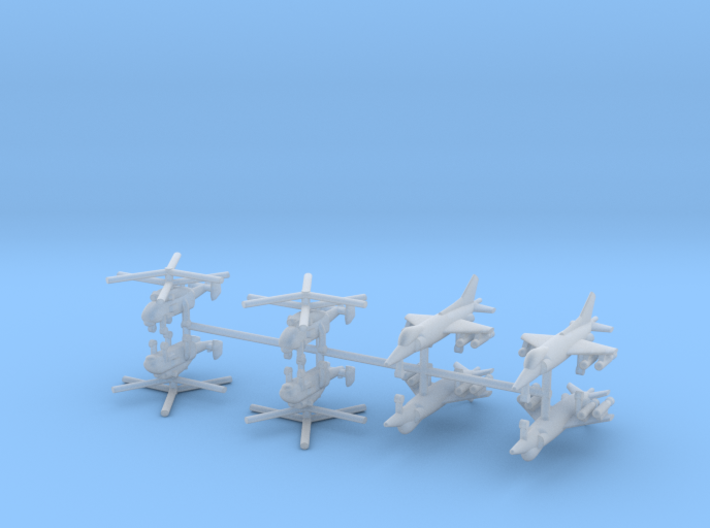 1/700 Russian Naval Aviation Kit 4 3d printed