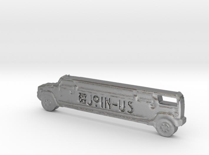 ZWOOKY Style 26 Sample - Hummer keyring 3d printed