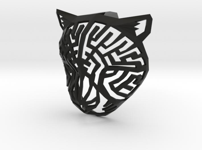Modern Faux Taxidermy - Cheetah Head (S) 3d printed