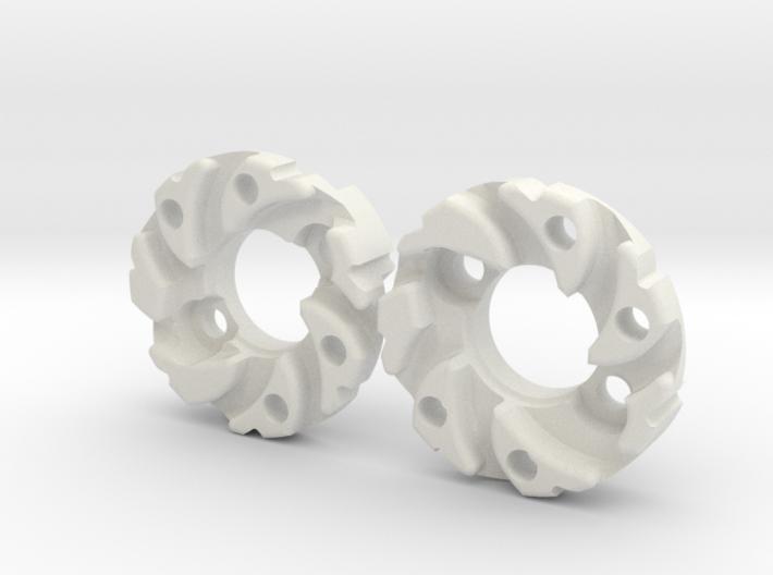 Mecanum Wheel Matrix Adapter 3d printed