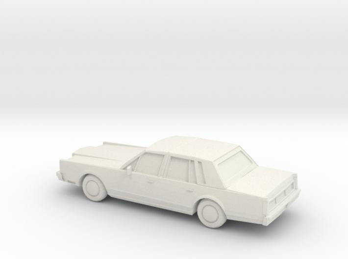1/87 1983 Lincoln Town Car 3d printed