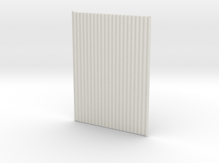 1:6 corrugated panels x2 3d printed