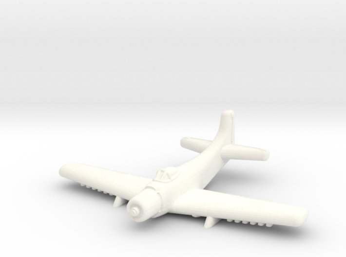 A-1 Skyraider-1/600 Scale (Qty.1) 3d printed