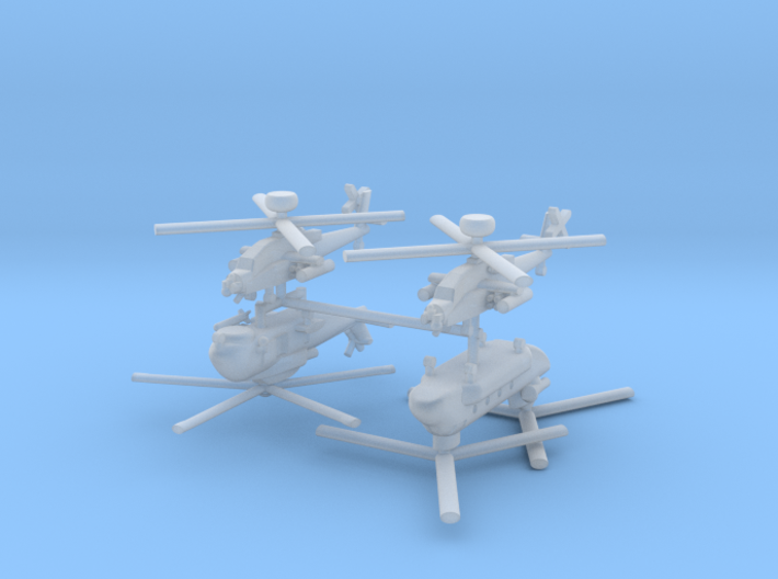 1/700 UK Naval Aviation Kit 6 3d printed