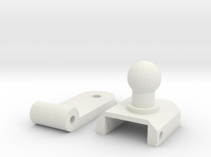 Zero Left Arm Hinge 3d printed