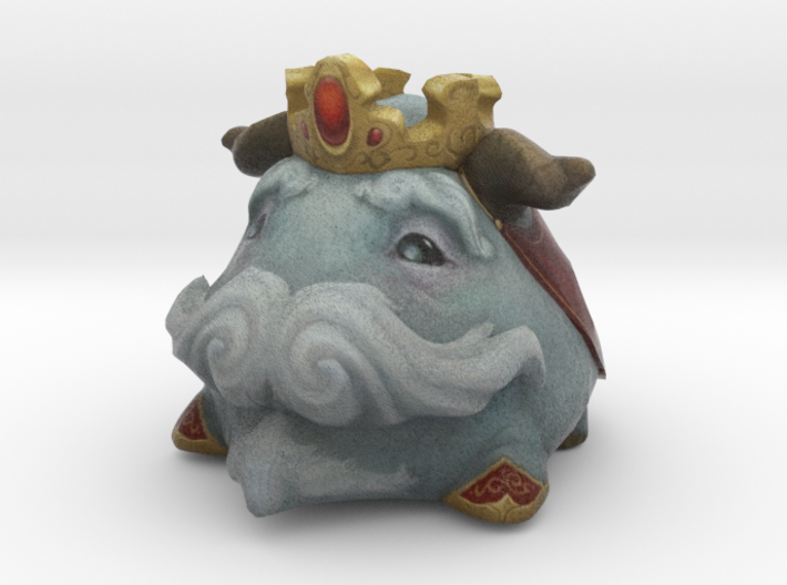King Poro Red 3d printed