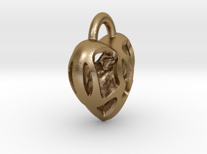 Key Hole Heart 3d printed