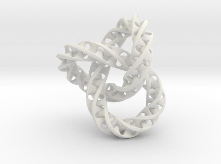 Fused Interlocked Mobius Infinity Knot Smaller 3d printed