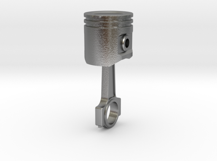 Piston And Conrod V3 3d printed