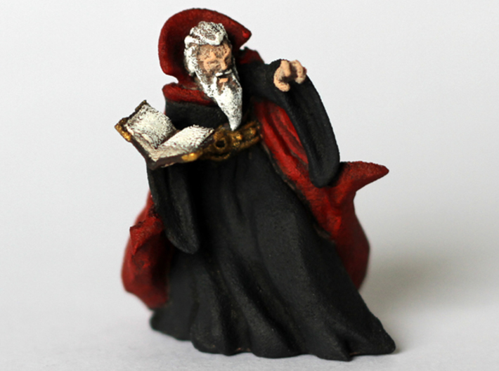 Zargon the Evil Wizard 3d printed
