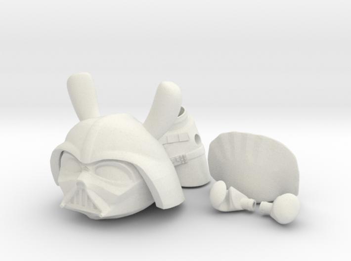 Darkside Bunny 3d printed