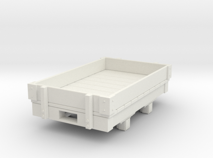 Gn15 small 5ft 1 plank wagon 3d printed