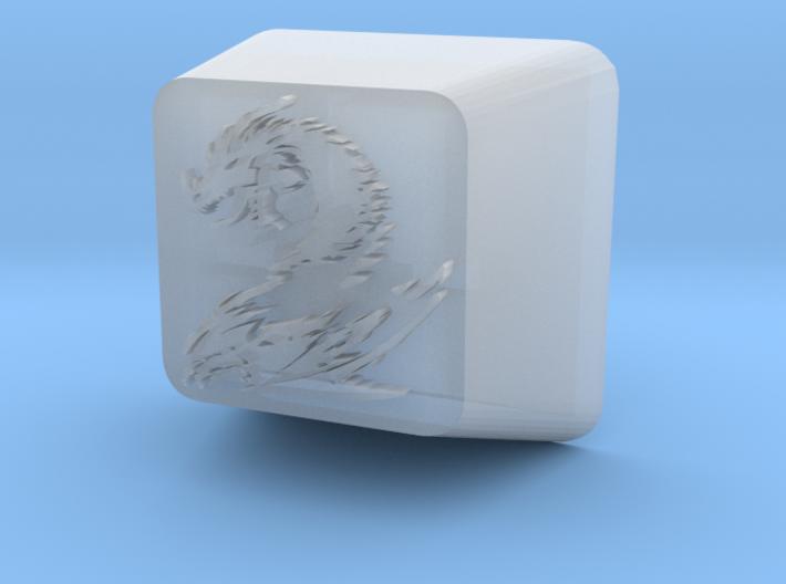 Dragon Cherry MX Keycap 3d printed