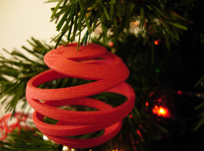 Christmas Ball - Xmas-III 8x8 3d printed