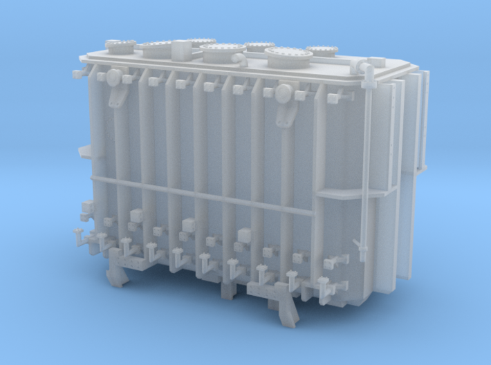 Transformer load Exactrail QTTX 2 trk Sans Beams 3d printed