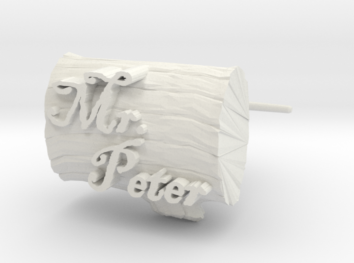 Peters Cuff Links 3d printed